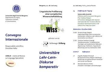 Universitäre Lehr-Lern- Diskurse komparativ - Universität Hamburg