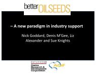 – A new paradigm in industry support