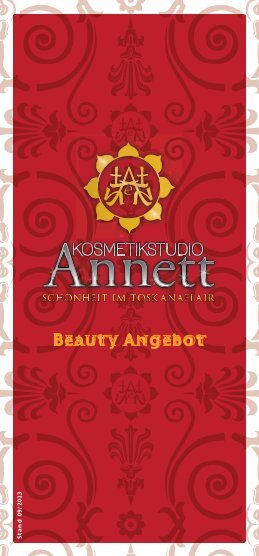 Beauty Angebot - Kosmetikstudio Annett