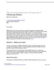 DB2 9 Fundamentals exam 730 prep, Part 1 - FTP Directory Listing
