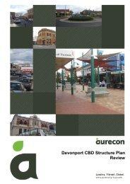 Devonport CBD Structure Plan Review - Devonport City Council