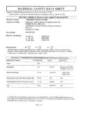 Glass Cleaner MSDS Sheet - Corcraft