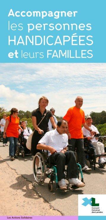 Guide XL : Accompagner les personnes handicapées et leurs familles