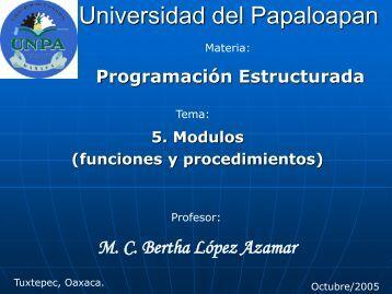 Programación Estructurada - UNPA
