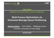 Multi-Process Optimization via Horizontal Message Queue Partitioning