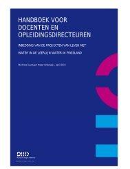 Handboek docenten en opleidingsdirecteuren - Leven met Water