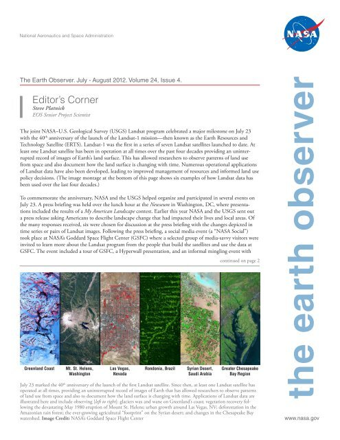 Download - NASA's Earth Observing System