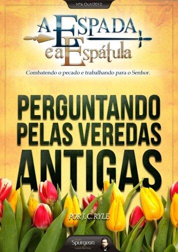 Por Andreia Ferreira - Projeto Spurgeon