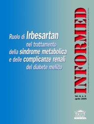 dellasindrome metabolica e delle complicanze ... - Salute per tutti