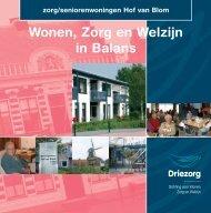 Zorg/Seniorenwoningen Hof van Blom - Driezorg