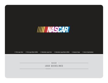 nascar logo guidelines