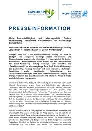 Pressemitteilung - Expedition N