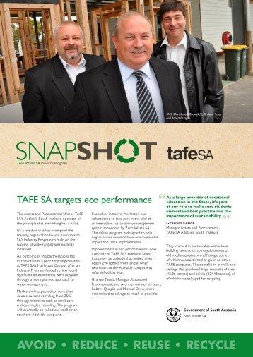 TAFE SA Marleston Campus - Zero Waste SA - SA.Gov.au