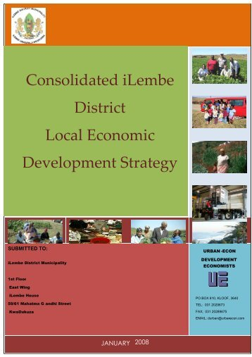 Consolidated iLembe District Local Economic Development Strategy