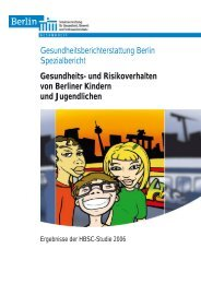 Gesundheits-/Risikoverhalten Berliner Kinder/Jugendl. 2008 (pdf)