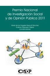 Premio Nacional de Investigación Social y de Opinión Pública 2011