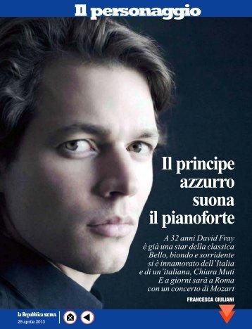 Il principe azzurro suona il pianoforte - Accademia Nazionale di ...