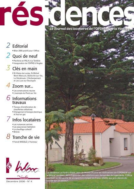Résidences n°4.pdf - Vendée Habitat