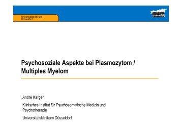 Psychosoziale Aspekte bei Krebs