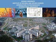 kocaeli university institute of natural and applied sciences ...