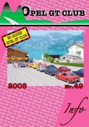 OPEL GT CLUB OPEL GT CLUB 2008 Nr.49
