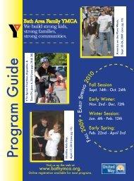 Program GuideProgram Guide - the Bath Area Family YMCA