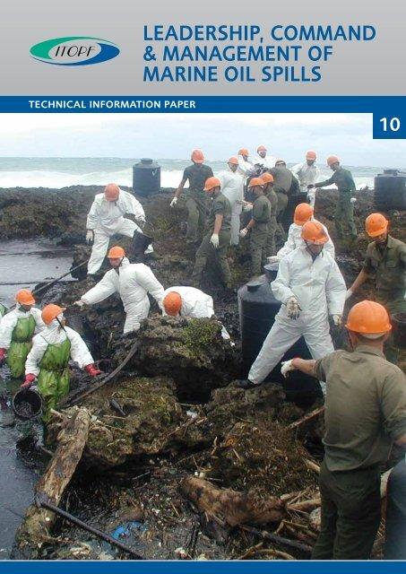 leadership, command & management of marine oil spills - ITOPF