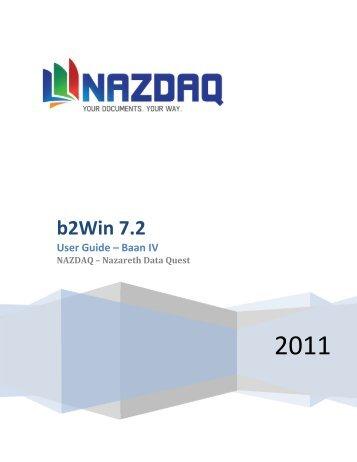b2win 7 2 user guide baan erp nazdaq rh yumpu com Baan Logo Baan ERP Software