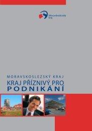 kraj příznivý pro podnikání - Moravskoslezský kraj