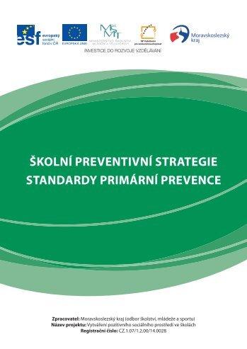 Školní preventivní strategie, standardy primární prevence (formát ...