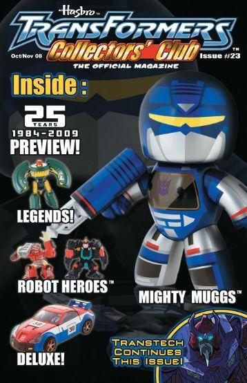 Oct/Nov 08 - Transformers Collectors' Club