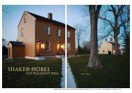 Die Möbel aus Pleasant Hill und ihre ... - Holzwerken