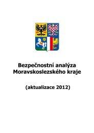 Bezpečnostní analýza Moravskoslezského kraje - Moravskoslezský ...