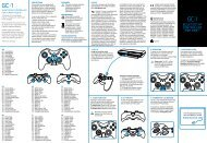 BLUETOOTH® CONTROLLER FOR PS3™ - Gioteck