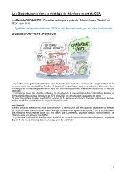 Les Biocarburants dans la stratégie de développement du ... - SFEN