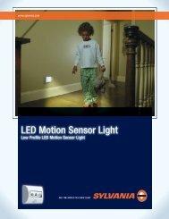 LED Motion Sensor Light - Osram Sylvania