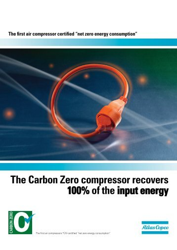 The Carbon Zero compressor recovers 100% of the ... - Air Service