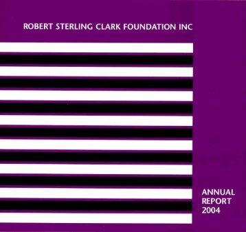 download PDF - Robert Sterling Clark Foundation