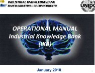 Operational Manual IKB cv1trad - Unido
