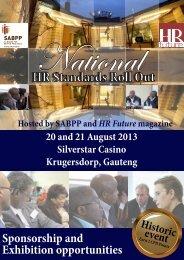 HR Standards Exhibitors & Sponsors Aug 2013.pdf - SABPP