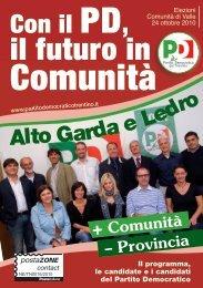 l'opuscolo! - Partito Democratico del Trentino