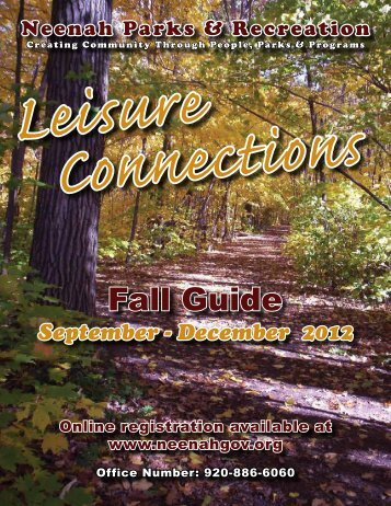 Fall Guide 2012.pdf - City of Neenah