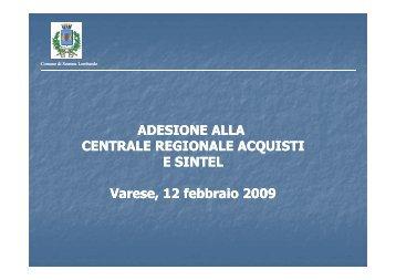 esperienza del Comune di Somma Lombardo (.pdf - Agenzia ...