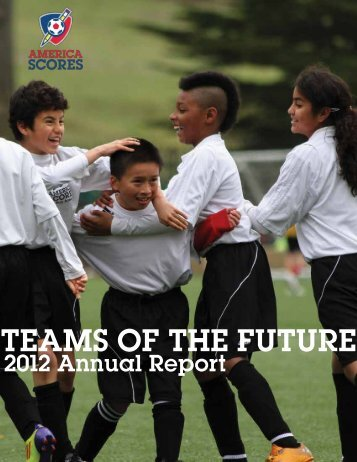 2012 Annual Report - America SCORES