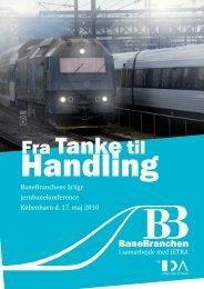 Invitationen - Den Danske Banekonference