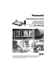 Wireless Camera Monitoring System - Operating Manuals for ...