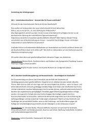 Vorstellung der Arbeitsgruppen: AG 1 ... - Richterratschlag