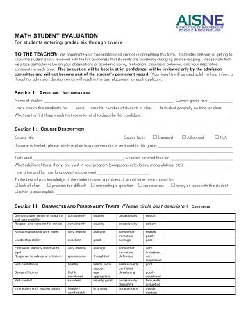 Pastor Evaluation Form PdfPdf  Capitol Hill Presbyterian