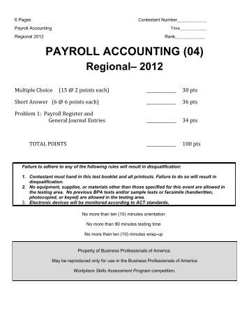 payroll accounting chapter 7 final solutions In this chapter you will learn to post journal entries to the general ledger and to prepare a trial balance (steps 4 and 5 in the accounting cycle illus- trated in figure 7–1.