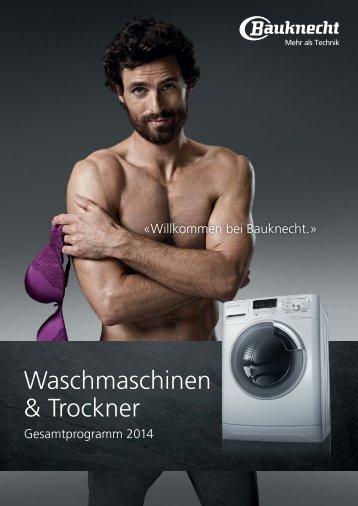 Waschmaschinen & Trockner
